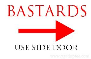 Bastards side door
